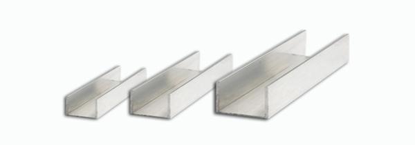Estrela dos metais alum nio perfil u abas desiguais - Perfil aluminio u ...